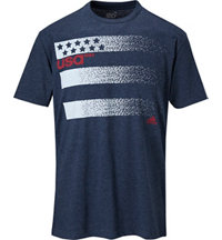 Men's 3-Stripe Olympic Short Sleeve Tee