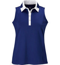 Aleisha Sleeveless Polo