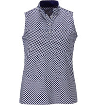 Silvia Sleeveless Polo