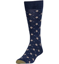 Men's Argyle Club Socks (1 Pack)