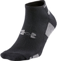 Men's Heatgear No Show Socks (3 Pack)