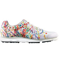 Women's emPower Paint Splatter Spikeless Golf Shoe- White/Paint (FJ# 98012)