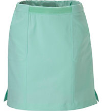 Women's Solid Pull On Skort