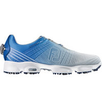 Men's Hyperflex II BOA Spiked Golf Shoe-Blue/Silver (#51032)