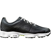 Men's Hyperflex II Spiked Golf Shoe-Black (#51035)