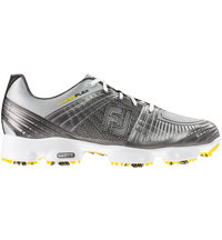 Men's Hyperflex II Spiked Golf Shoe-Silver (#51036)