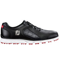 Men's Pro SL Spikeless Golf Shoe-Black (#53594)