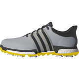 Men's Tour360 Boost Spiked Golf Shoes - Grey/Yellow