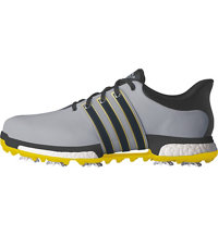 Men's Tour360 Boost Spiked Golf Shoes- Grey/Yellow