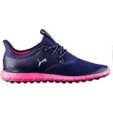 Women's Ignite Sport Spikeless Golf Shoe- Peacoat/Silver/Knockout Pink