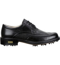 Men's World Class Spiked Golf Shoe - Black