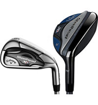 Steelhead XR 3H,4H 5-PW Combo Iron Set with Graphite Shaft