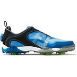 Men's Freestyle BOA Spiked Golf Shoe - BLK/BLU