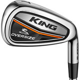 King OS 4-PW, GW Iron Set with Steel Shaft