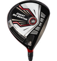 Blemished Great Big Bertha Driver - Limited Release Red