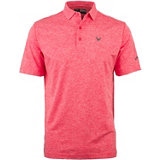 Men's B&T Opti-Stretch Heathered Short Sleeve Polo