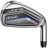 King F7 One Length 5-GW Iron Set with Steel Shafts