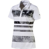 Women's Bloom Stripe Short Sleeve Polo