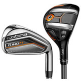 F7 3H, 4H 5-PW Combo Iron Set with Steel Shafts
