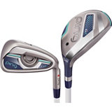 Women's G LE 4H, 5H 6-PW,SW Iron Set with Graphite Shafts