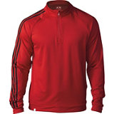 Men's 3 Stripe Quarter Zip Pullover