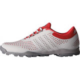 Women's Adipure Sport Spikeless Golf Shoe – Grey/Pink