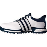Men's Tour 360 Boost Spiked Golf Shoe - White/Blue