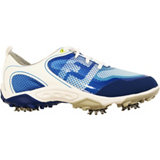 Junior Freestyle Spiked Golf Shoe - Wht/Blu
