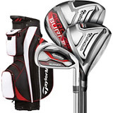 Aeroburner HL Package Set with 4-PW, AW Iron Set in Steel Shaft
