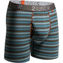 Men's Swing Shift Striped Boxer Briefs