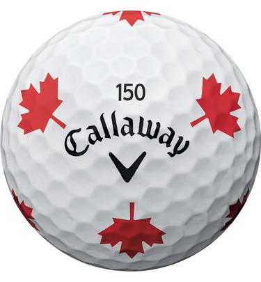 Chrome Soft Truvis Maple Leaf 12pk Golf Balls Golf Town
