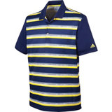 Men's Climacool Club Stripe Short Sleeve Polo