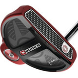O-Works Red 2-Ball Putter with Winn Grip
