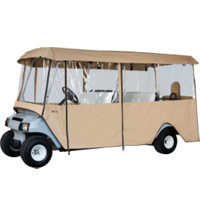 Deluxe 6-Passenger Golf Cart Enclosure