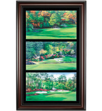 Framed Art - Augusta Amen Corner (25