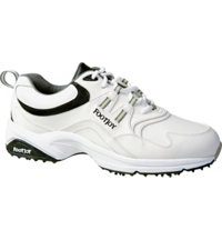 Men's Closeout GreenJoys Golf Shoes - White/Black (FJ# 45335)