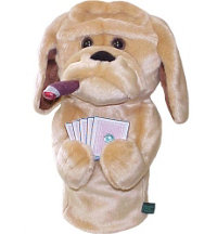 Poker Playing Hound Headcover