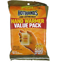 Air Activated Disposable Hand Warmers (10-Pack)