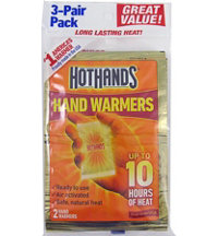Air Activated Disposable Hand Warmers (3 Pack)