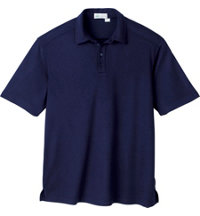 Logo Men's Bamboo Polyester Polo