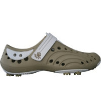 Women's Golf Spirit Golf Shoes (Tan/White)