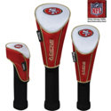 McArthur NFL Set of Three Nylon Headcovers- Driver, Fairway, Utility