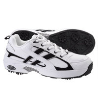 Men's Athletic Golf Shoes (White/Black)