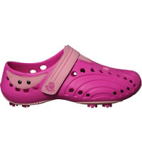 Women's Golf Spirit New Colors Casual Shoes (Hot Pink/Soft Pink)