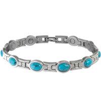 Lady Turquoise Magnetic Bracelet