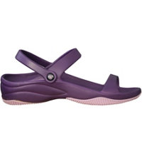 Premium Women's 3 Strap Casual Sandals (Plum/Lilac)