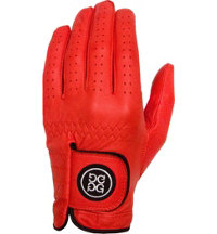 Men's Golf Glove - Crimson