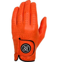 Men's Golf Glove - Tangerine
