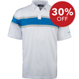 Men's B&T Chest Striped Short Sleeve Polo
