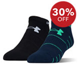 Men's Elevated Performance No Show Socks - 2Pack